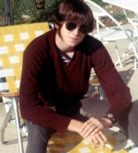 Tom Hoban in 1968 (age 16)