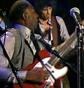 Muddy Waters Looking to Keith Richards