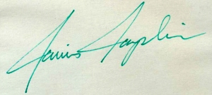 Janis Joplin Autograph