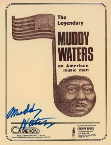 Muddy Waters autograph
