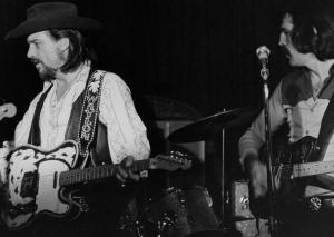 Waylon Jennings on Stage
